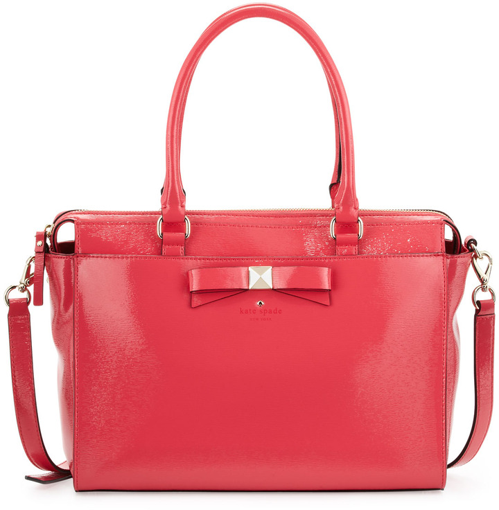 Kate Spade Beacon Court Jeanne Satchel Bag, Strawberry