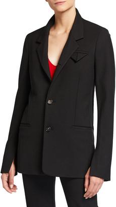 Bottega Veneta Kaia Slit-Sleeve Jacket