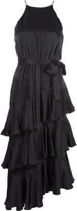 Zimmermann halterneck tiered dress