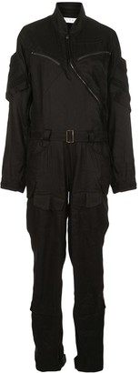 TRE by Natalie Ratabesi Bomber Utility Jumpsuit