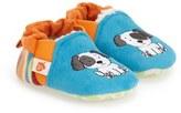 Acorn Infant 'Critter' Easy-On Moc Slipper