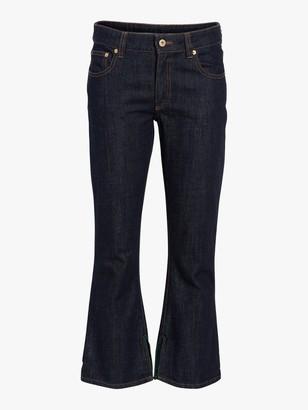 Carven Crop Flare Jeans