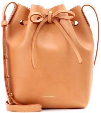 Mansur Gavriel Mini Bucket leather crossbody bag