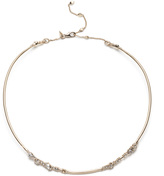 Alexis Bittar Encrusted Charm Collar Necklace