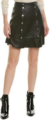 Walter Baker Aurea Leather Skirt