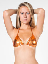 American Apparel Shiny Triangle Top