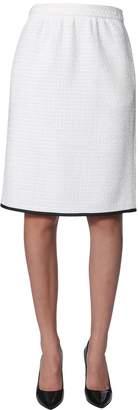 Moschino Boucle Wool Skirt