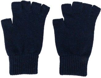 Pringle Fingerless Cashmere Gloves