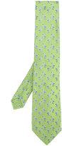 Etro flamingos print tie - men - Silk - One Size