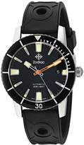 Zodiac Men's 'Super Seawolf 53 Comp' Swiss Automatic Stainless Steel and Rubber Casual Watch