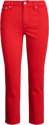 Ralph Lauren Premier Straight Crop Jean