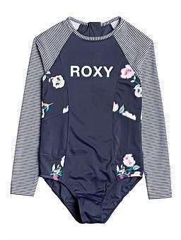 Roxy Lets Get Salty Onesie Longsleeve Rashie