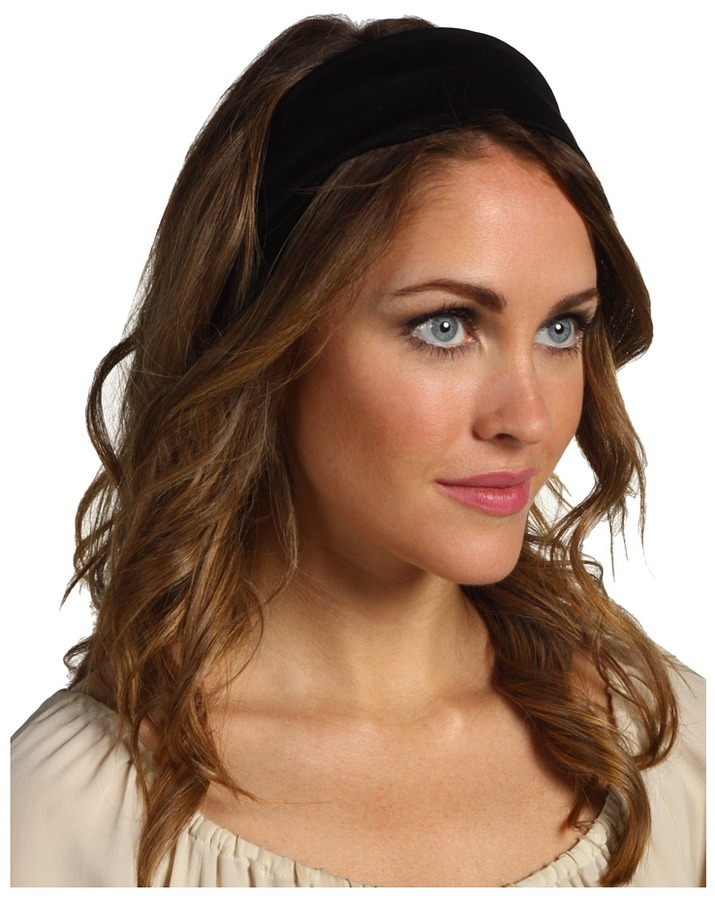 Jane Tran Cotton Bandeau Knot Turban Style Headband