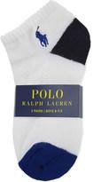 Ralph Lauren Pony ankle socks pack of three