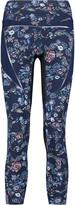 Lucas Hugh Inco printed stretch-jersey leggings