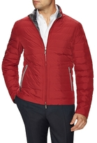 Canali Woven Solid Puffer Jacket