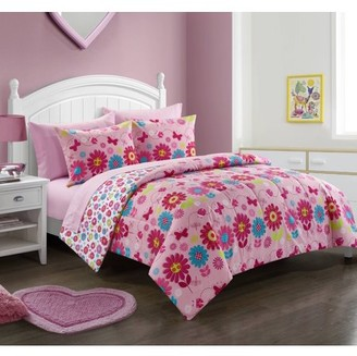 Heritage Club Daisy Floral Reversible Comforter, Twin