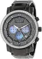 Akribos XXIV Men's AKR439BK2 Grandiose Dazzling Diamond Chronograph Watch