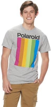 Polaroid Mens Logo Bars Tee