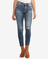 Silver Jeans Co. Robson Ripped High-Rise Jeggings