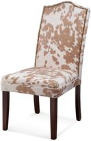 Bassett Mirror Company Camelback Nailhead Parsons Dining Chairs (Set of 2)