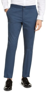 INC International Concepts Inc Onyx Men's Slim-Fit Tech Pants, Created for Macy's