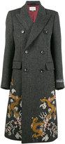 Gucci herringbone coat