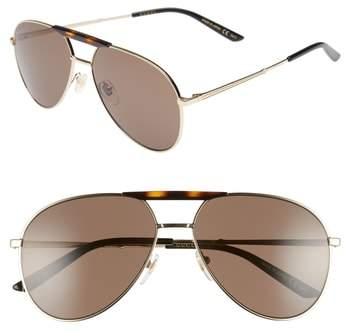 Gucci Cruise 59mm Aviator Sunglasses
