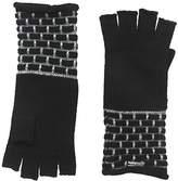 Calvin Klein Women's Brick Stitch Fingerless Gloves