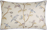 "Jane Wilner Designs Suki Bird Pillow, 15"" x 26"""