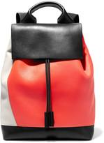 Marni Pod Color-block Leather Backpack - Black