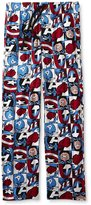 Marvel Captain America All Over Print Mens Sleep Pants