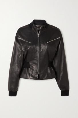 Isabel Marant Xabia Leather Jacket - Black