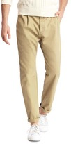 Gap Pleated slim fit khakis