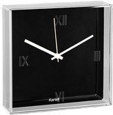 Kartell Tic & Tac Wall Clock - Black