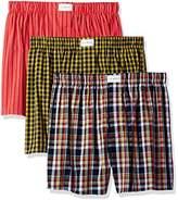 Tommy Hilfiger Men's Underwear 3 Pack Cotton Classics Woven Boxers