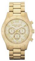 Michael Kors Mens Gold Chronograph Watch