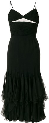Valentino Pre-Owned Ruffle Trim Dress
