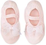Dance Class Pink Satin Princess Slipper - Infant, Toddler & Girls
