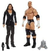 WWE Triple H and Stephanie McMahon Action Figure 2-Pack