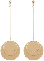 Cara Accessories Multi Disc Drop Earrings