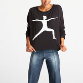 Lucy Show Up Pullover Graphic