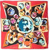 Kenneth Jay Lane Silk Printed Scarf w/ Tags