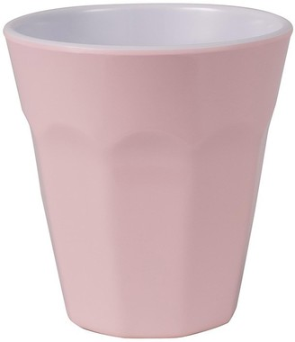 Serroni Cafe Melamine Single Tone Cup 260ml Pastel Pink