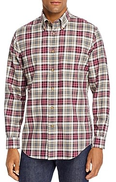 Brooks Brothers Plaid Flannel Regent Classic Fit Button-Down Shirt