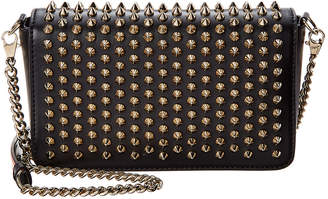 Christian Louboutin Zoompouch Spiked Leather Crossbody