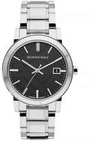 Burberry The City Analog Silvertone Watch
