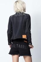 Zadig & Voltaire Kioky Punk Strass Jacket