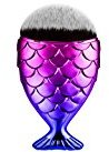 Creazy Fish Scale Makeup Brush Fishtail Bottom Brush Powder Blush Makeup Cosmetic Brush (C)