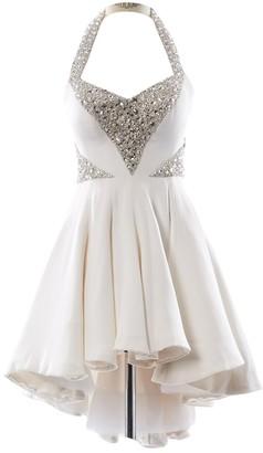 RALPH & RUSSO Ecru Silk Dress for Women